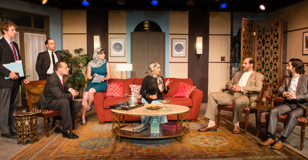 The play, The Engine of Our Ruin, at Victory Theatre Center